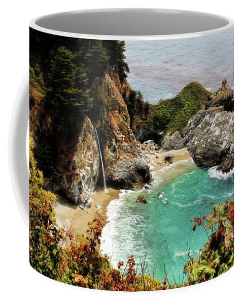 Mcway Cove Coffee Mug featuring the photograph Mcway Falls 2 by Judy Vincent