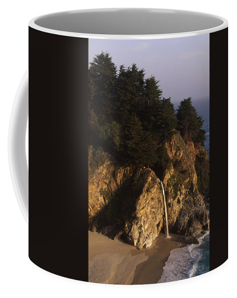 Mcway Falls Coffee Mug featuring the photograph Mcway Falls by Soli Deo Gloria Wilderness And Wildlife Photography