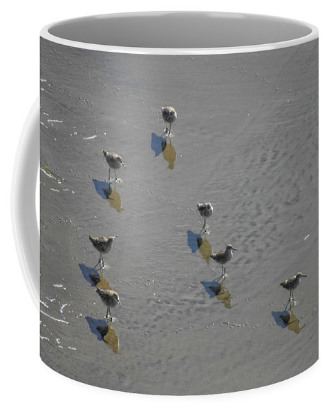 Shadow Coffee Mug featuring the photograph Me And My Shadows by Donna Blackhall