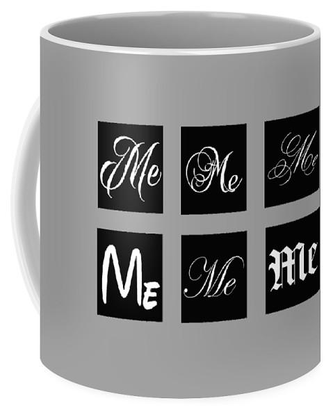 Me Coffee Mug featuring the digital art ME by Omran Husain
