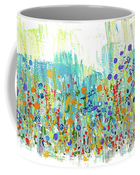Painting Coffee Mug featuring the painting Meadow by Bjorn Sjogren