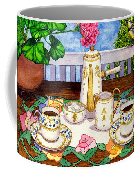 Coffee Coffee Mug featuring the painting Meadowlark by Catherine G McElroy