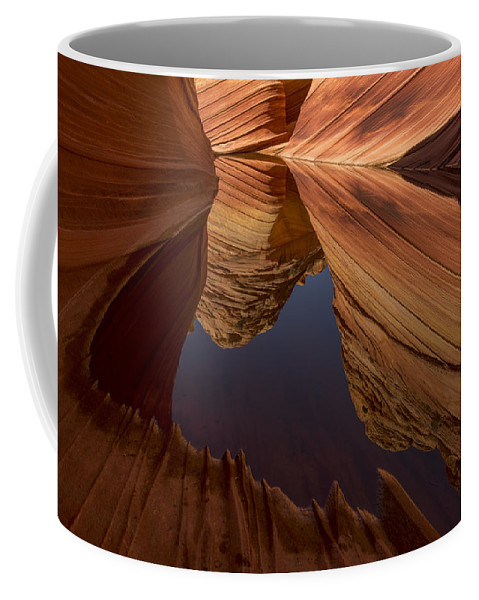 The Wave Coffee Mug featuring the photograph Mecca by Dustin LeFevre