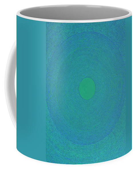 Modern Coffee Mug featuring the painting Meditation 2 by Kyung Hee Hogg