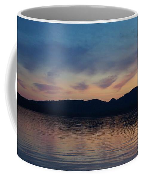 Bigwood Lake Coffee Mug featuring the photograph Meditation by Allen Foley