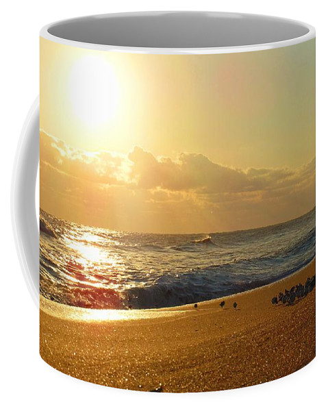 Nc Coffee Mug featuring the photograph Meeting With The Sun by Sean Paul Ballentine
