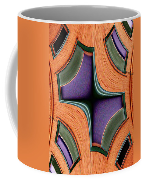 Windows Coffee Mug featuring the photograph Melded Windows by Tim Allen