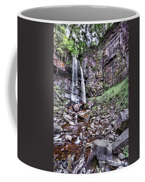 Melincourt Falls Coffee Mug featuring the photograph Melincourt Falls by Steve Purnell