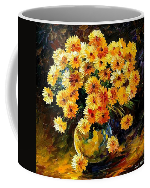 Still Life Coffee Mug featuring the painting Melody Of Beauty by Leonid Afremov