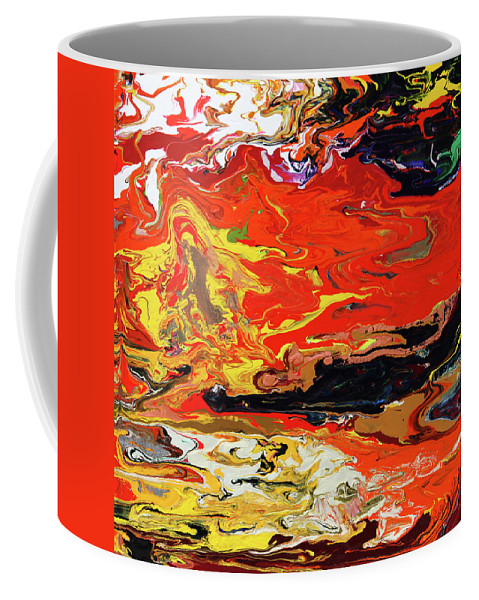 Fusionart Coffee Mug featuring the painting Melt by Ralph White