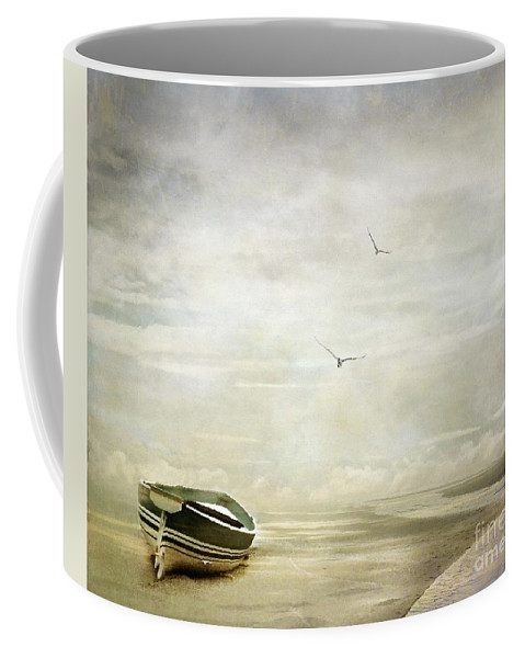 Beach Coffee Mug featuring the photograph Memories by Jacky Gerritsen