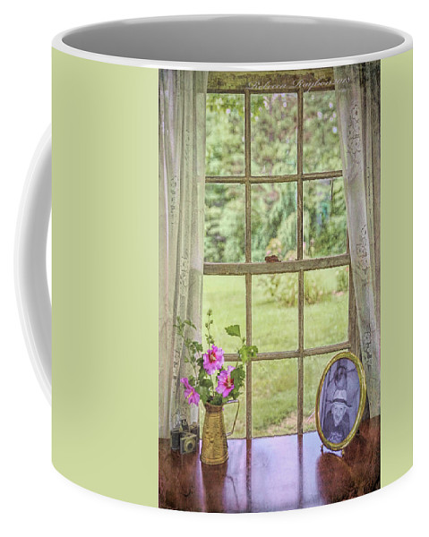 Vintage Coffee Mug featuring the photograph Memories by Rebecca Raybon