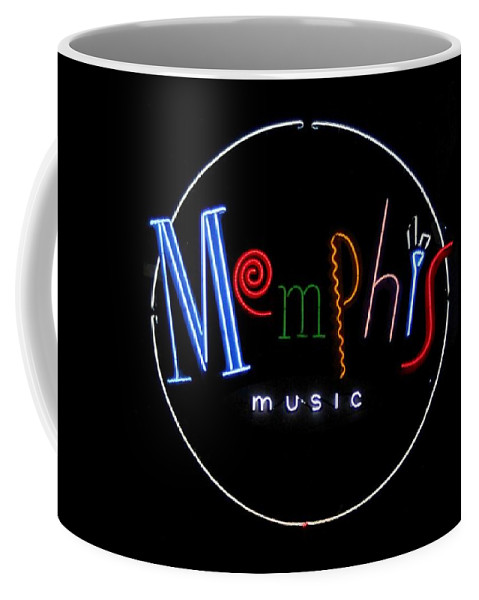 Photo For Sale Coffee Mug featuring the photograph Memphis Music by Robert Wilder Jr