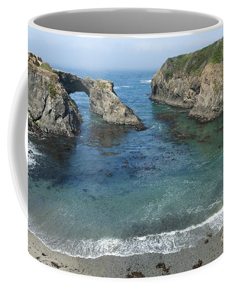 Bronstein Coffee Mug featuring the photograph Mendicino County Viewpoint by Sandra Bronstein