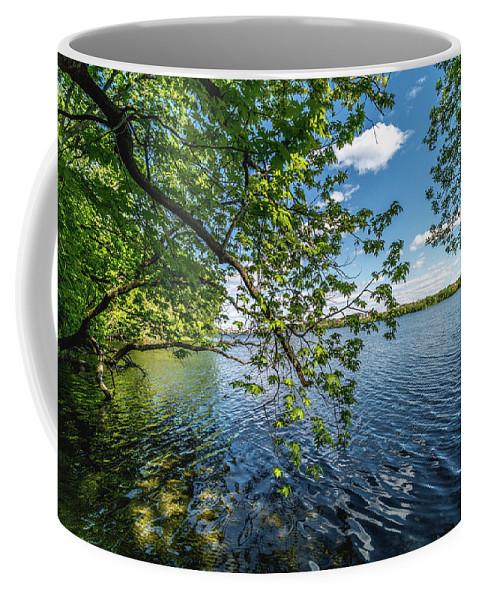 Lake Coffee Mug featuring the photograph Mendota Lake by Rockland Filmworks
