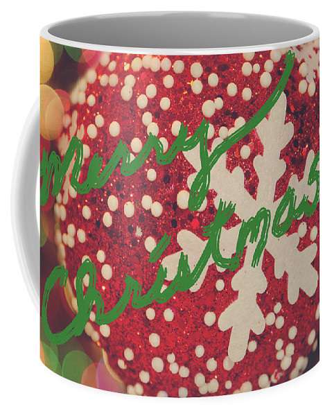 Christmas Coffee Mug featuring the photograph Merry Christmas by Laurie Search