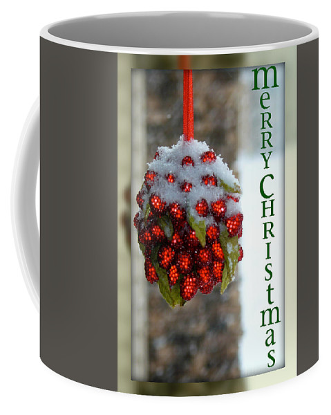 Merry Christmas Coffee Mug featuring the photograph Merry Christmas by Lisa Knechtel