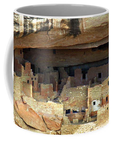 Americana Coffee Mug featuring the photograph Mesa Verde by Marilyn Hunt