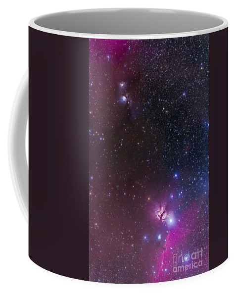 Barnard 33 Coffee Mug featuring the photograph Messier 78 & Horsehead Nebula In Orion by Alan Dyer