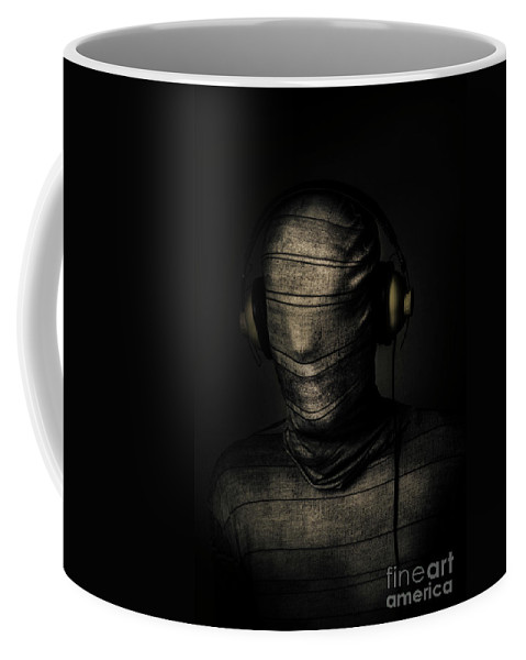 Death Coffee Mug featuring the photograph Metal Monster Mummy by Jorgo Photography - Wall Art Gallery