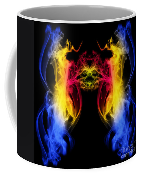 Clay Coffee Mug featuring the digital art Metamorphis by Clayton Bruster