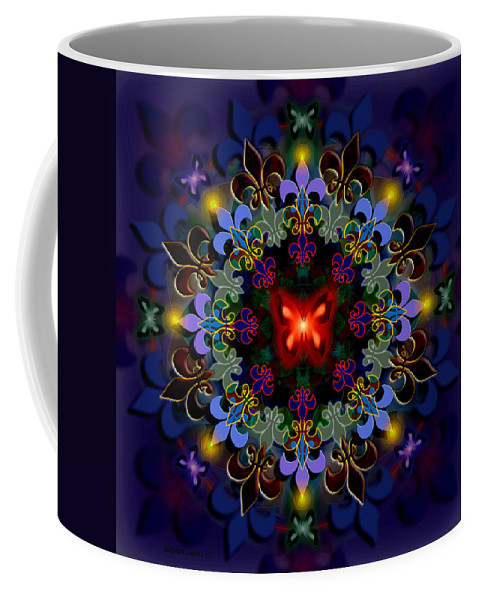 Spiritual Coffee Mug featuring the digital art Metamorphosis Dream II by Stephen Lucas