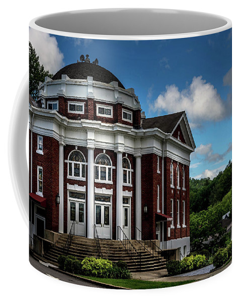 Cherokee County Coffee Mug featuring the photograph Methodist Churches by Greg and Chrystal Mimbs