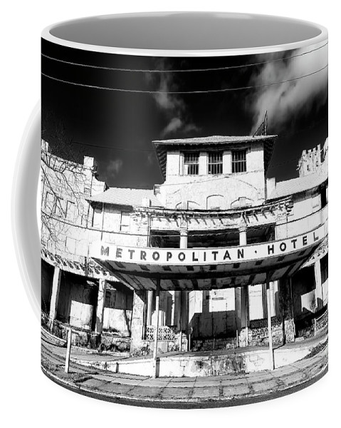 Nj Coffee Mug featuring the photograph Metropolitan Hotel by John Rizzuto