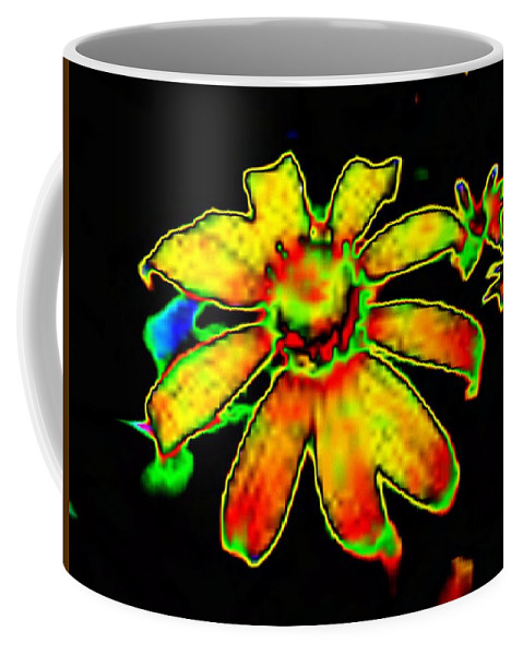 Sunflower Coffee Mug featuring the photograph Mexican Sunflower by Tim Allen