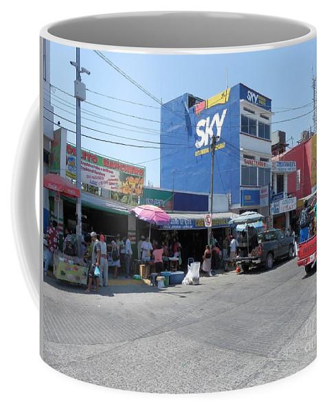 Puerto Escondido Coffee Mug featuring the photograph Mexico Memories 15 by Victor K