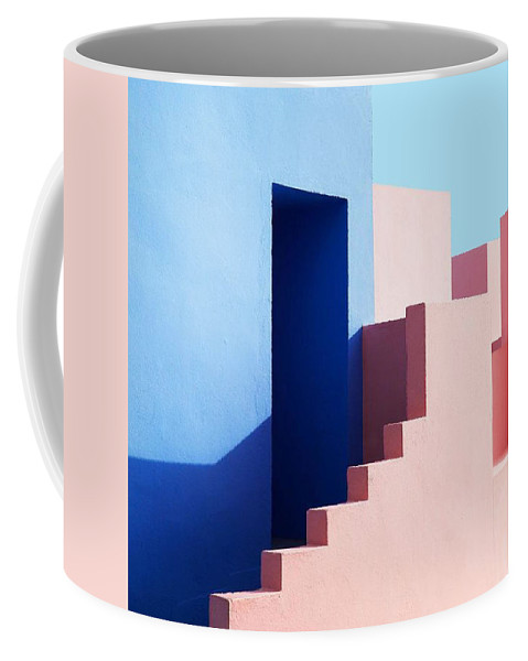 Coffee Mug featuring the digital art Mexico by Stuart Grenfell