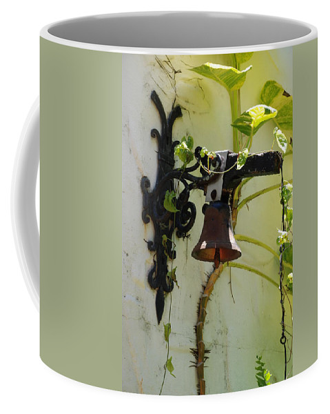 Architecture Coffee Mug featuring the photograph Miami Monastery Bell by Rob Hans