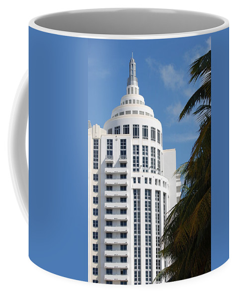 Architecture Coffee Mug featuring the photograph Miami S Capitol Building by Rob Hans