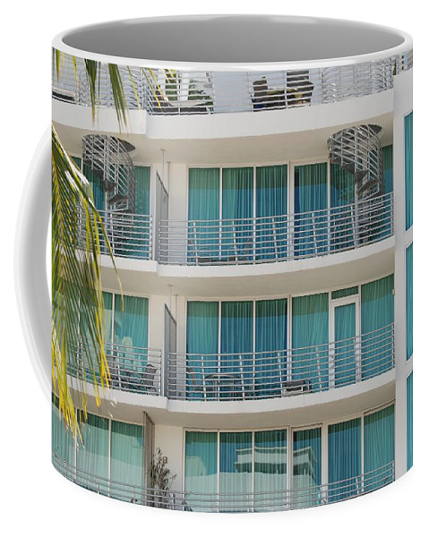 Architecture Coffee Mug featuring the photograph Miami Vice by Rob Hans