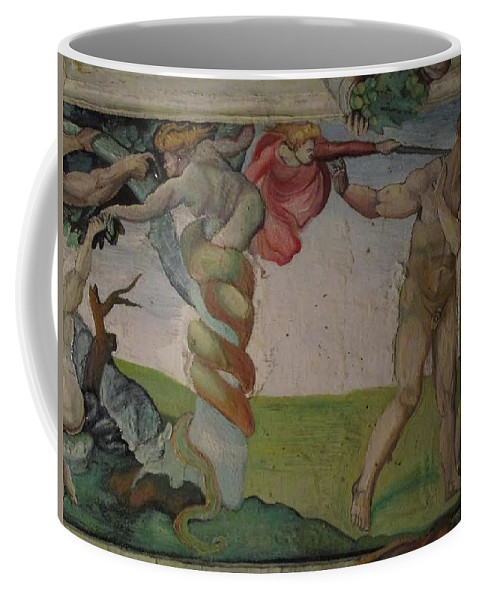 Oil Painting Coffee Mug featuring the painting Michelangelo Study 1 by Amber Whiteman