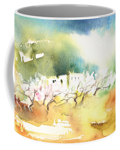 Landscapes Coffee Mug featuring the painting Midday 20 by Miki De Goodaboom