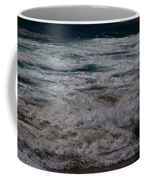Coffee Mug featuring the photograph Midnight At Huntington Beach by Colleen Cornelius