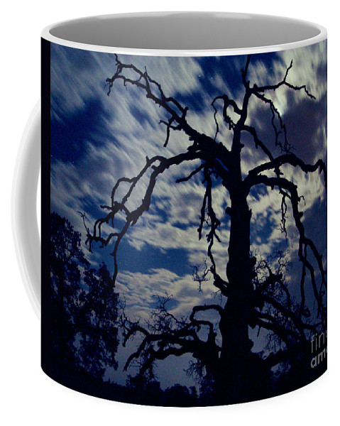 Clouds Coffee Mug featuring the photograph Midnight Blue by Peter Piatt