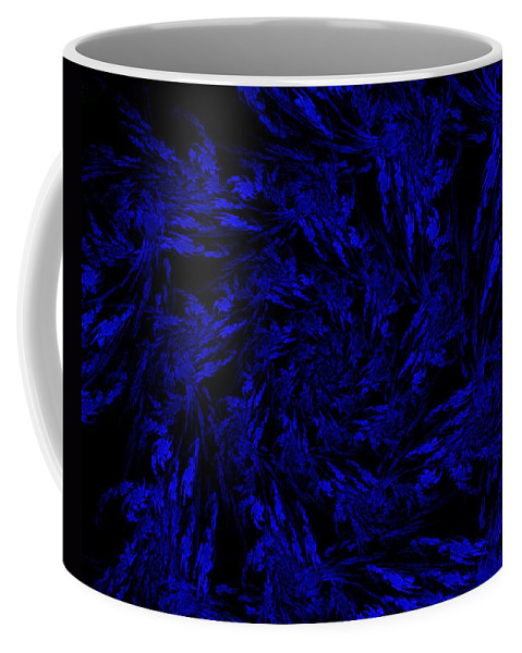 Fractal Coffee Mug featuring the digital art Midnight Journey by David Lane