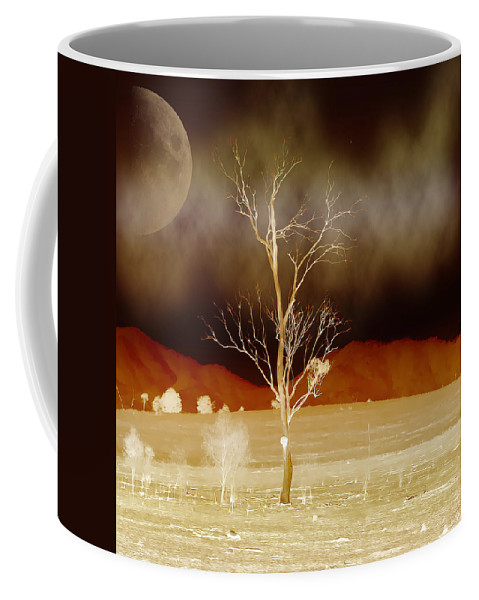 Landscapes Coffee Mug featuring the photograph Midnight Vogue by Holly Kempe