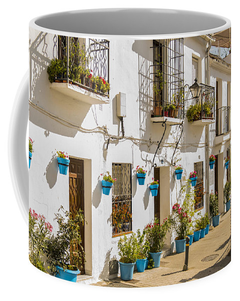 Mijas Coffee Mug featuring the photograph Mijas - Costa Del Sol  Spain by Jon Berghoff
