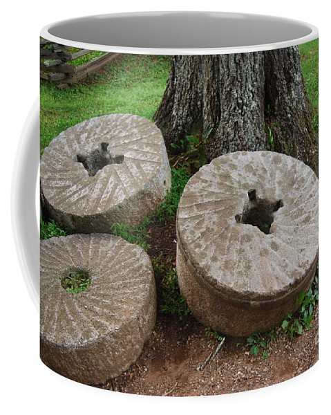 Mill Stone Coffee Mug featuring the photograph Mill Stone by Eric Liller
