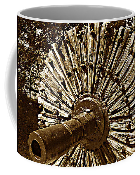 Mill Wheel Coffee Mug featuring the photograph Mill Wheel by Bob Johnson