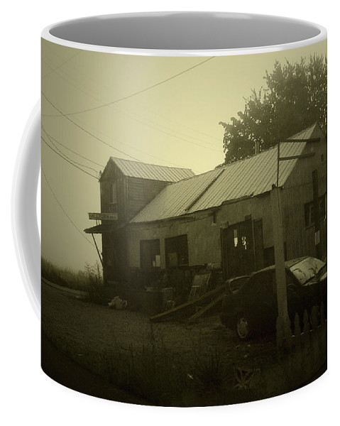 Milltown Coffee Mug featuring the photograph Milltown Merchantile by Tim Nyberg