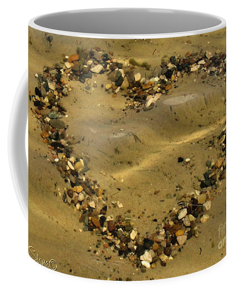 Sand Coffee Mug featuring the photograph Mine Withstands by September Stone
