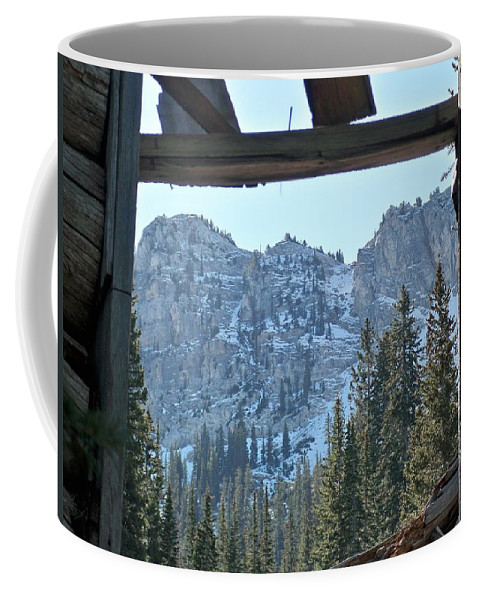 Mountain Coffee Mug featuring the photograph Miners Lost View by Michael Cuozzo