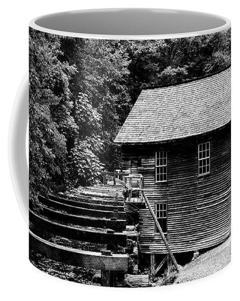 Mingus Mill Coffee Mug featuring the photograph Mingus Mill Run by Stephen Stookey