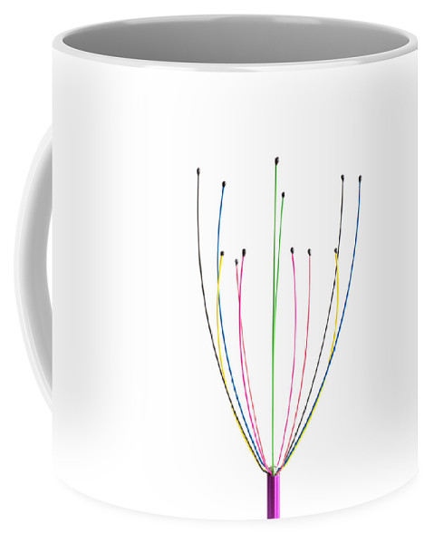 Minimal Coffee Mug featuring the photograph Minimal Colours 11 by Steve Purnell
