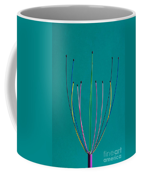 Minimal Coffee Mug featuring the photograph Minimal Colours 12 by Steve Purnell