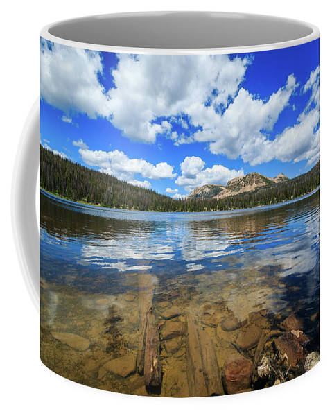 Trailsxposed Coffee Mug featuring the photograph Mirror Lake Moments by Gina Herbert